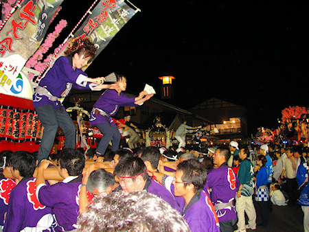 [速報]2008年久慈秋まつり〜前夜祭