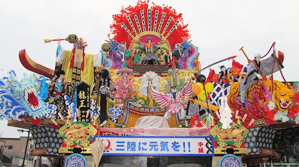 [速報]2011年久慈秋まつり〜中日