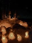 べっぴんの湯 節分まつり~雪神楽点灯