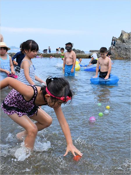 舟渡海水浴場オープン