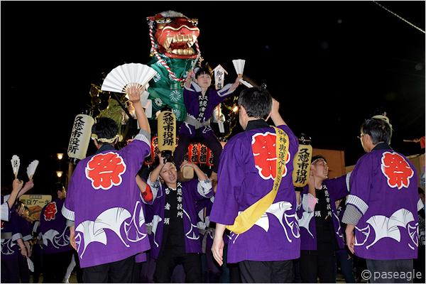 [速報]2017年久慈秋まつり〜前夜祭