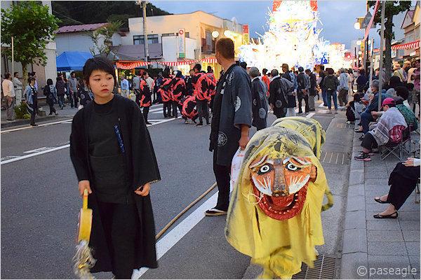 [速報]2017年久慈秋まつり〜お通り【全山車組紹介】
