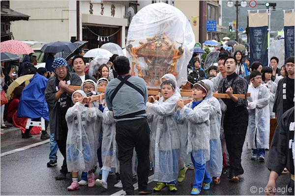 [速報]のんさん参加!2017年久慈秋まつり~お還り