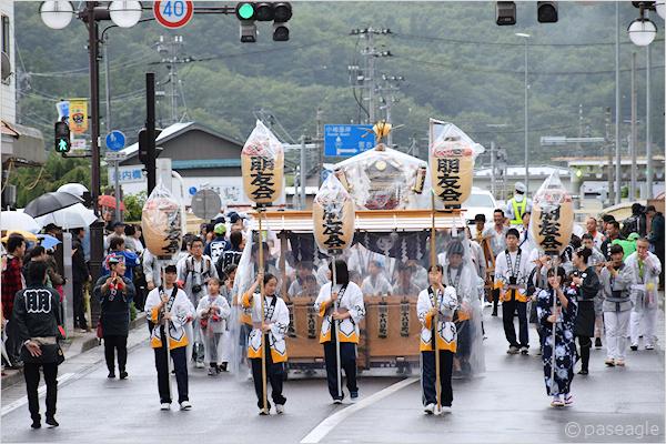 [速報]のんさん参加!2017年久慈秋まつり〜お還り