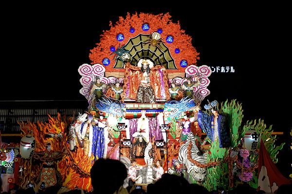 [速報]2015年久慈秋まつり〜全山車組紹介