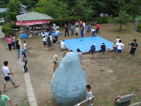 六郷祭写真1〜岩手県久慈市こはく街道