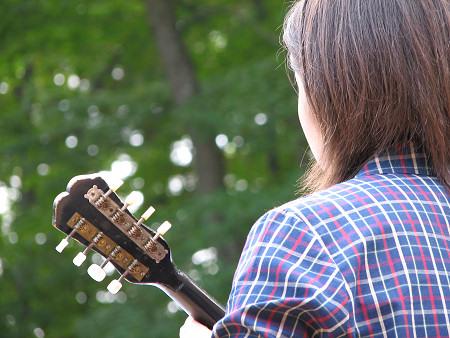 ギター&マンドリン3〜小久慈焼陶芸苑『秋の感謝祭』こはく街道