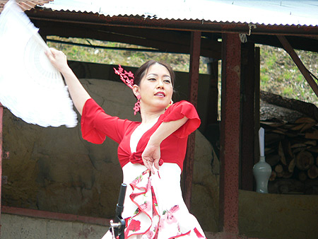フラメンコ〜小久慈焼陶器まつり