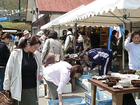 小久慈焼陶器祭り