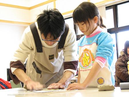 やませ土風館で冬休み手作り体験教室開催