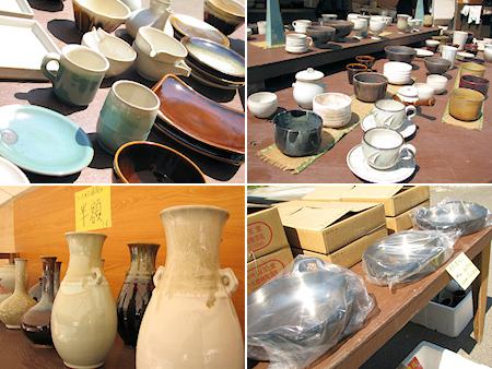 今日から小久慈焼陶器まつり