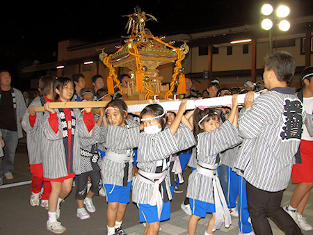 [速報]2009年久慈秋まつり〜前夜祭