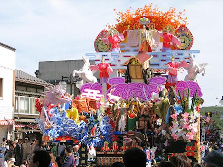 [速報]2009年久慈秋まつり〜お還り