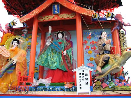 [速報]2010年久慈秋まつり〜前夜祭