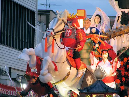 [速報]2010年久慈秋まつり〜お通り