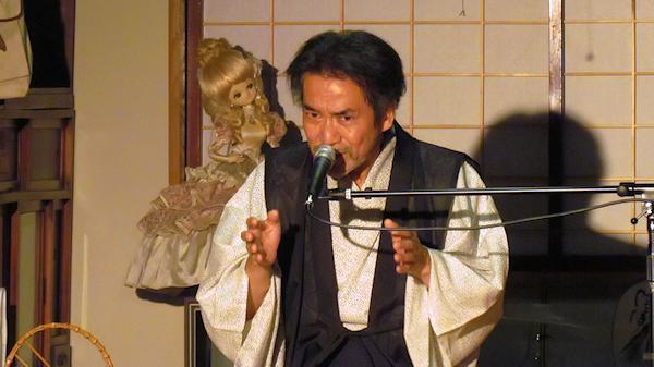 やませ土風館に稲川淳二の怪談が響く