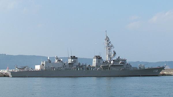 護衛艦たかなみ体験航海