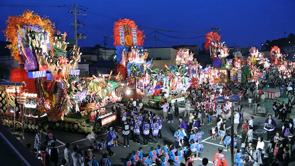 [速報]2012年久慈秋まつり〜前夜祭