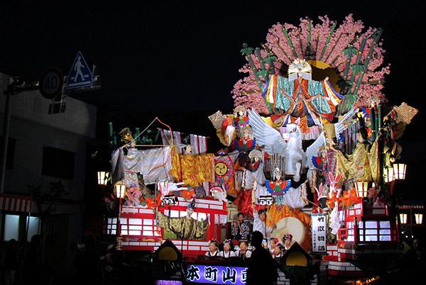 [速報]2012年久慈秋まつり〜お通り