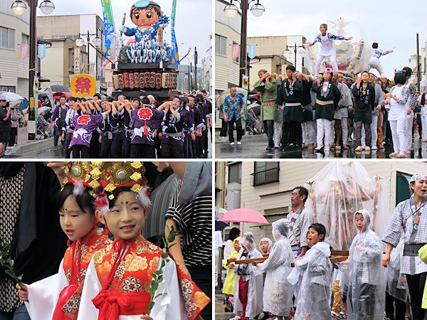 [速報]2012年久慈秋まつり〜お還り