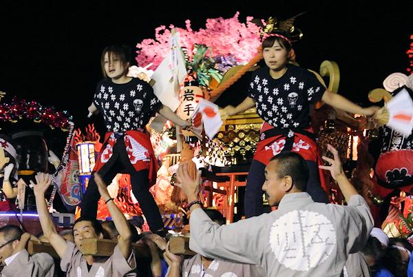 [速報]2013年久慈秋まつり〜前夜祭