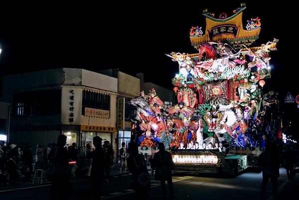[速報]2013年久慈秋まつり〜お通り