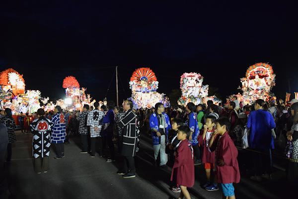 [速報]2014年久慈秋まつり〜前夜祭