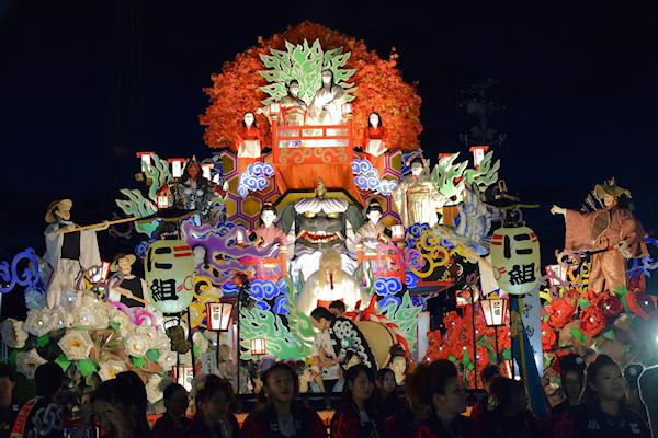 [速報]2014年久慈秋まつり〜全山車組紹介