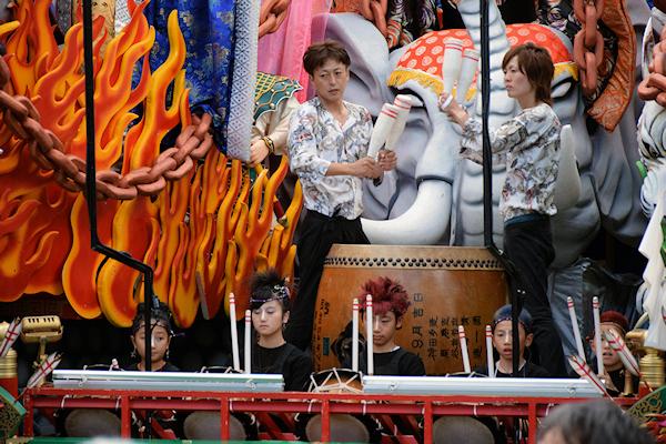 [速報]2015年久慈秋まつり〜お還り
