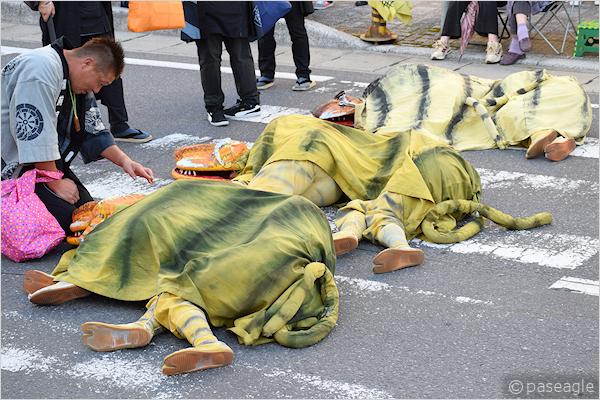 [速報]2018年久慈秋まつり~お還り